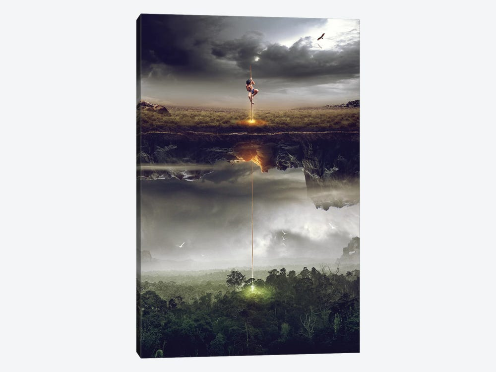 Save The World by Mas Heri 1-piece Canvas Print