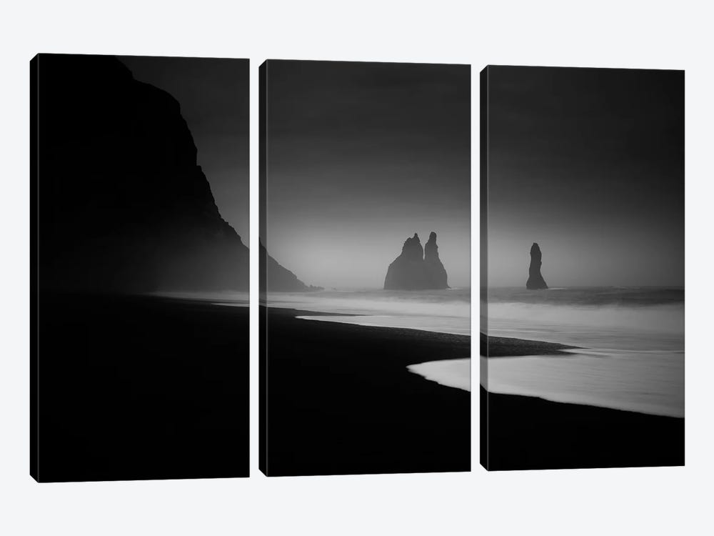 Monuments At Dawn by Peter Svoboda 3-piece Canvas Print