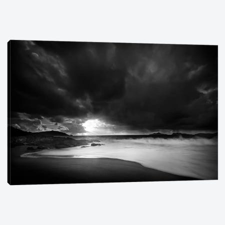 Storm Lights Canvas Print #OXM2830} by Santiago Pascual Buye Art Print
