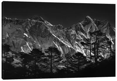 Everest View Canvas Art Print