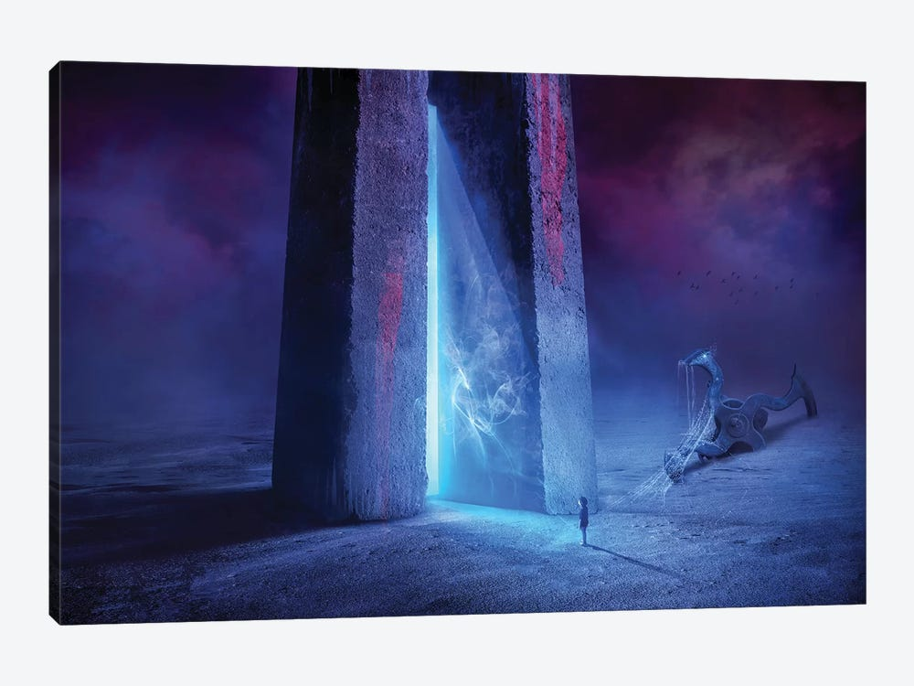 Time Gate by Sulaiman Almawash 1-piece Canvas Artwork