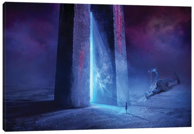 Time Gate Canvas Art Print