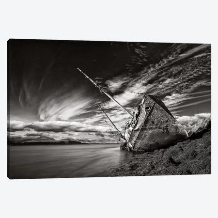Final Destination (Monochrome) Canvas Print #OXM2849} by Þorsteinn H. Ingibergsson Canvas Artwork