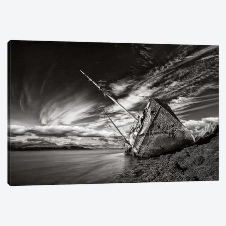 Final Destination (Monochrome) Canvas Print #OXM2849} by Torsteinn H. Ingibergsson Canvas Artwork