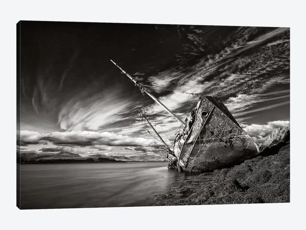 Final Destination (Monochrome) by Torsteinn H. Ingibergsson 1-piece Canvas Print