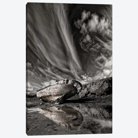 Final Place (Monochrome) Canvas Print #OXM2850} by Þorsteinn H. Ingibergsson Canvas Art Print