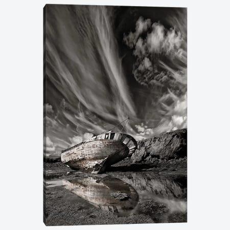 Final Place (Monochrome) Canvas Print #OXM2850} by Torsteinn H. Ingibergsson Canvas Art Print