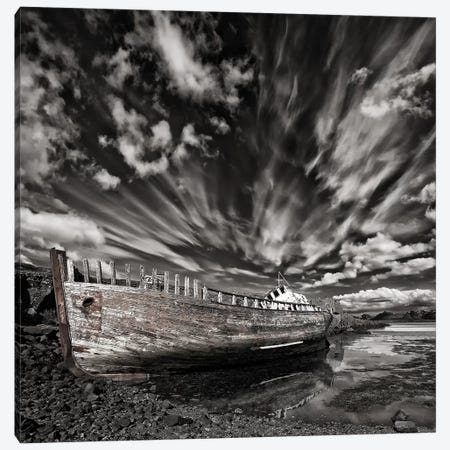 Resting There (Monochrome) Canvas Print #OXM2851} by Þorsteinn H. Ingibergsson Art Print