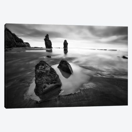 Three Sisters Beach Canvas Print #OXM2859} by Yan Zhang Canvas Print