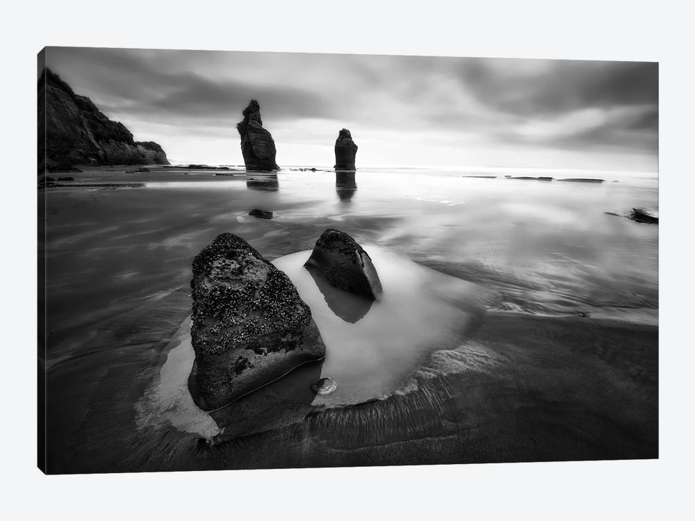 Three Sisters Beach by Yan Zhang 1-piece Canvas Wall Art