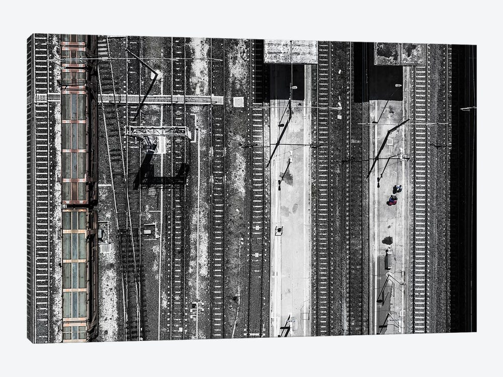 Civitavecchia Train Station by Zhou Chengzhou 1-piece Art Print