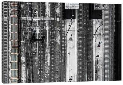 Civitavecchia Train Station Canvas Art Print