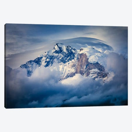 Annapurna Range Canvas Print #OXM2889} by Adrian Popan Canvas Wall Art