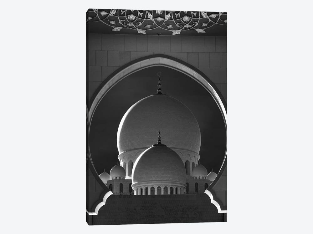 Dome Framing by Ahmed Thabet 1-piece Canvas Wall Art