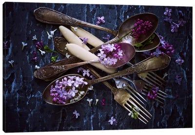 Spoons & Flowers Canvas Art Print
