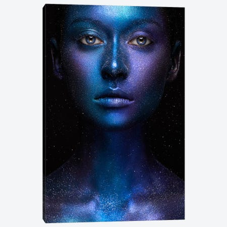 Galaxy Canvas Print #OXM2897} by Alex Malikov Canvas Art