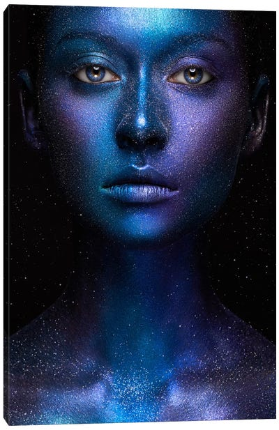 Galaxy Canvas Art Print