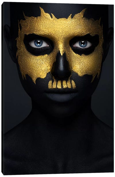 Gold Of The Dead Canvas Art Print