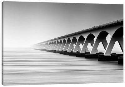 The Endless Bridge Canvas Art Print
