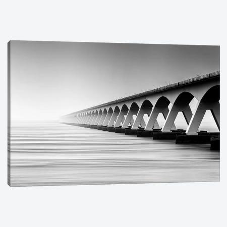 The Endless Bridge Canvas Print #OXM289} by Wim Denijs Canvas Art