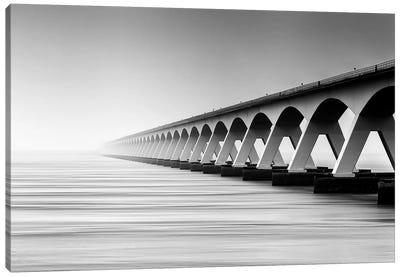 The Endless Bridge Canvas Art Print