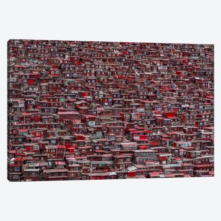 Red Houses Canvas Print #OXM2903} by Ali Al-Jazeri Canvas Art Print