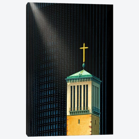 The Light Beam Canvas Print #OXM2912} by Anette Ohlendorf Canvas Wall Art