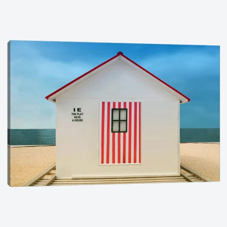 The Play Have A House Canvas Print #OXM2913} by Anette Ohlendorf Canvas Art