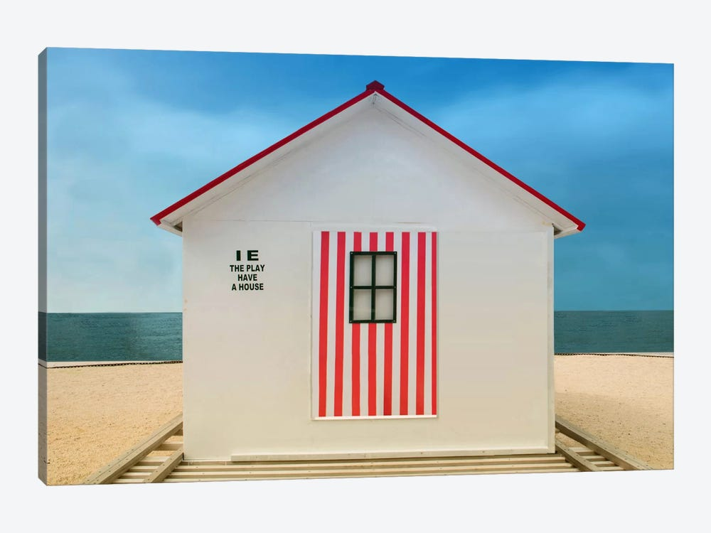 The Play Have A House by Anette Ohlendorf 1-piece Canvas Print