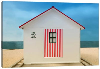 The Play Have A House Canvas Art Print
