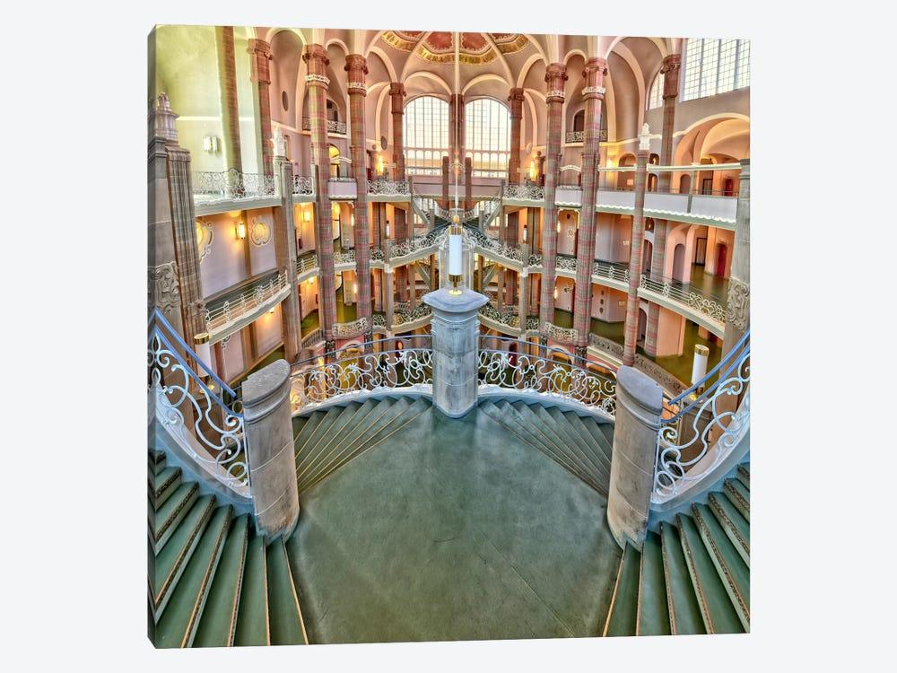 Treppenlauf by Anette Ohlendorf 1-piece Canvas Art