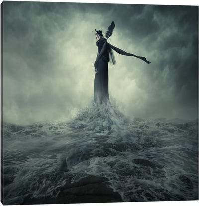 Queen Of The Darkness Canvas Print #OXM293