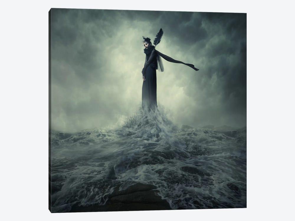 Queen Of The Darkness by hardibudi 1-piece Canvas Artwork