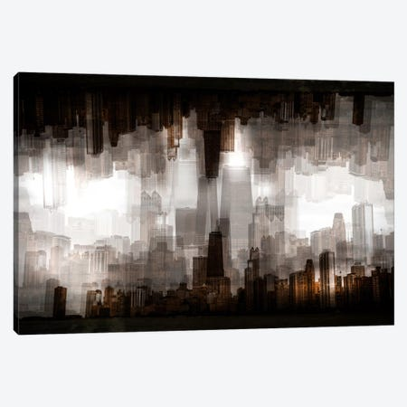 Chicago Skyline Canvas Print #OXM2941} by Carmine Chiriaco Canvas Print