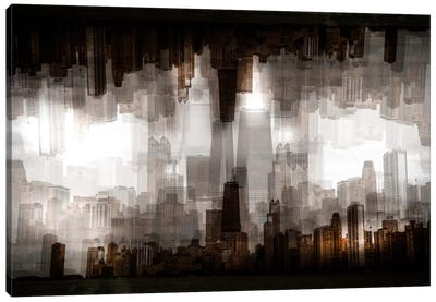 Chicago Skyline Canvas Art Print