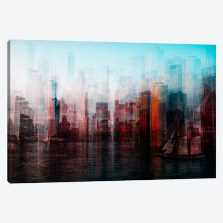 Manhattan Canvas Print #OXM2942} by Carmine Chiriaco Canvas Print
