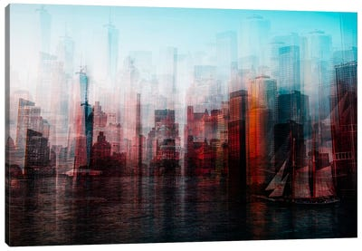 Manhattan Canvas Art Print