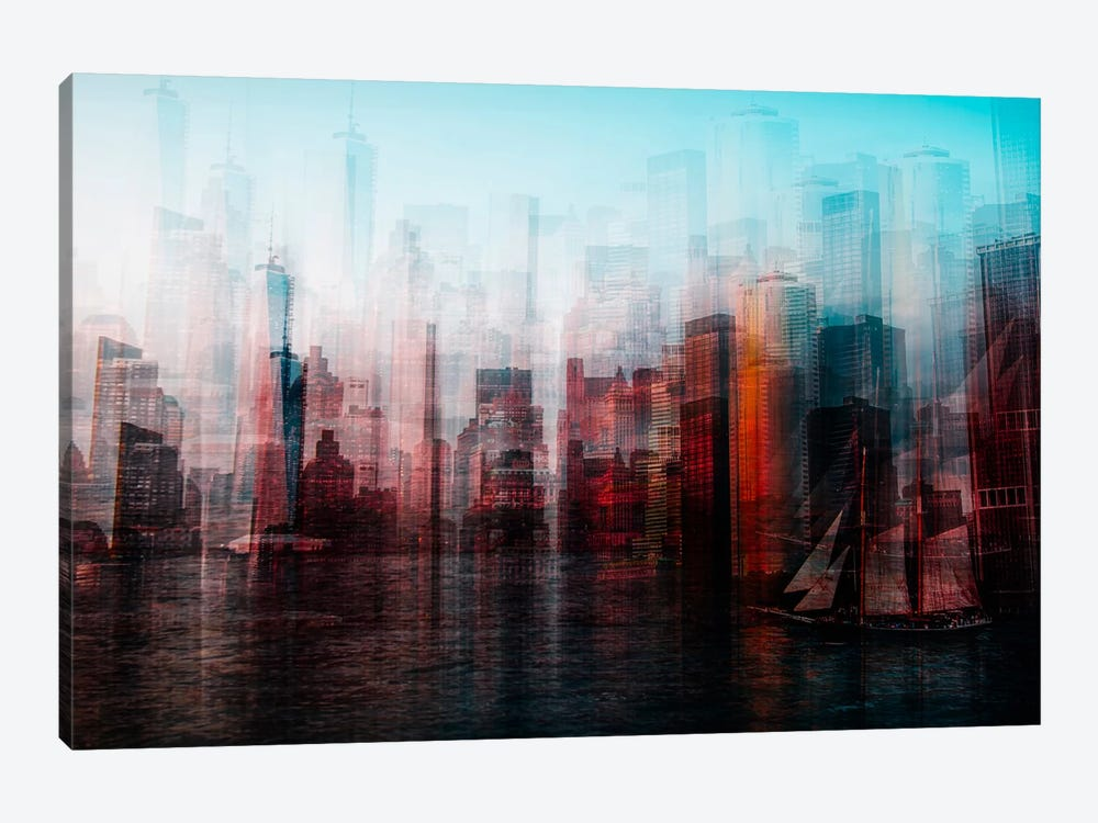 Manhattan by Carmine Chiriaco 1-piece Art Print