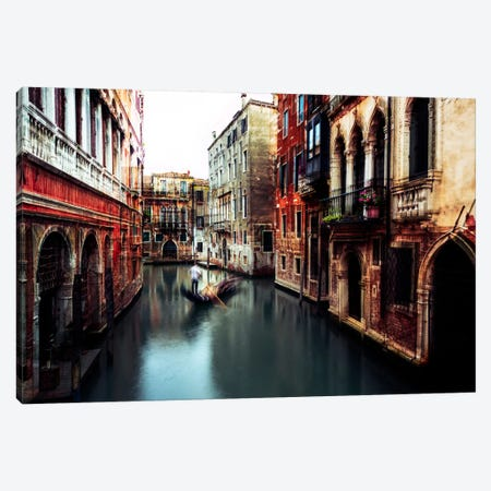 The Gondolier Canvas Print #OXM2944} by Carmine Chiriaco Canvas Artwork