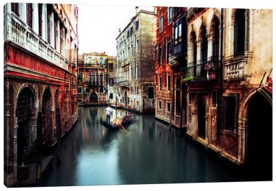 The Gondolier Canvas Art Print