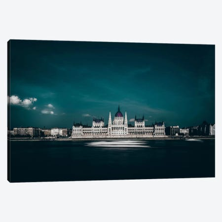 The Parliament Canvas Print #OXM2945} by Carmine Chiriaco Canvas Artwork