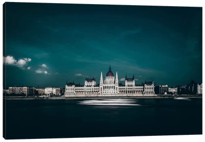The Parliament Canvas Art Print