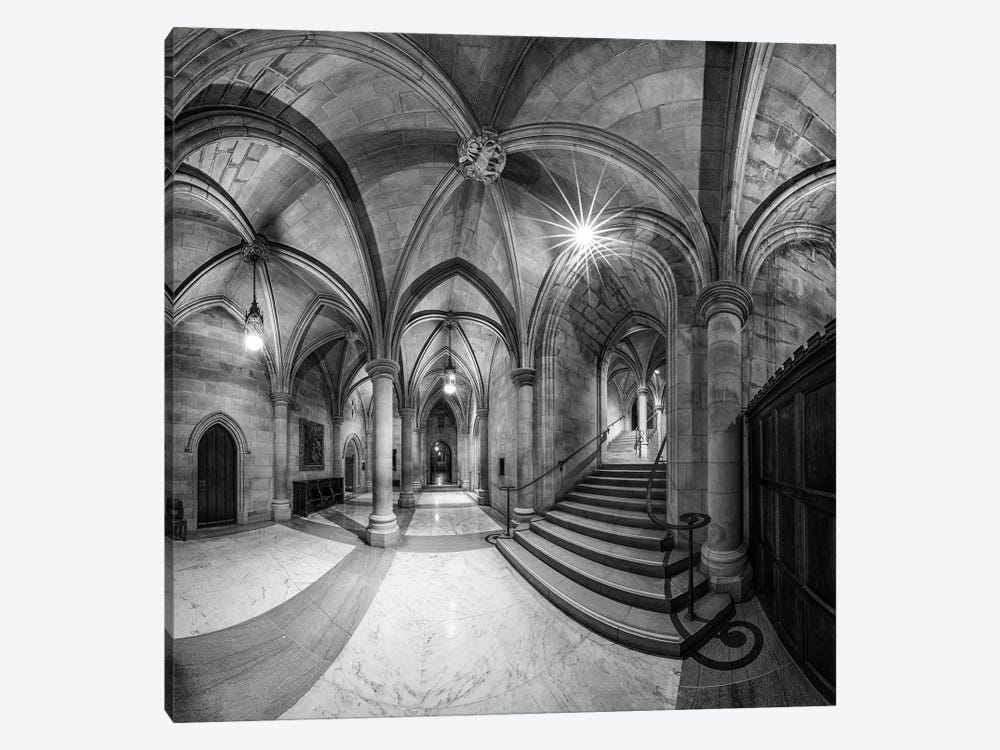 Undercroft by Christopher Budny 1-piece Art Print