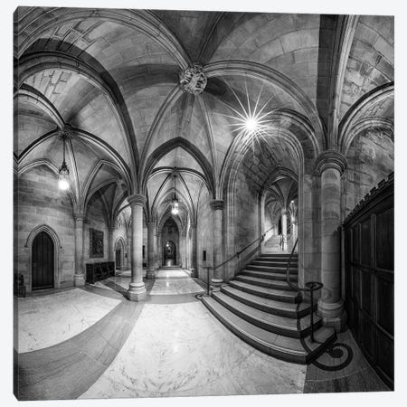 Undercroft 3-Piece Canvas #OXM2951} by Christopher Budny Canvas Wall Art