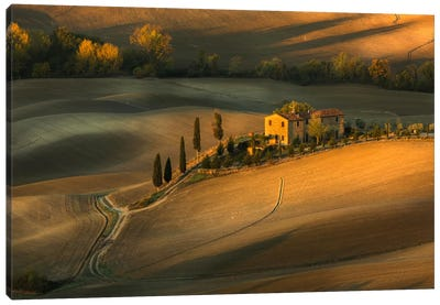 Tuscany Canvas Art Print