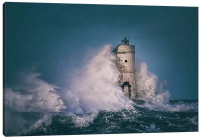 The Lighthouse Mangiabarche Canvas Art Print