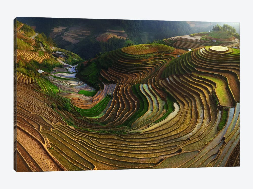 Mu Cang Chai, Vietnam I 1-piece Canvas Artwork