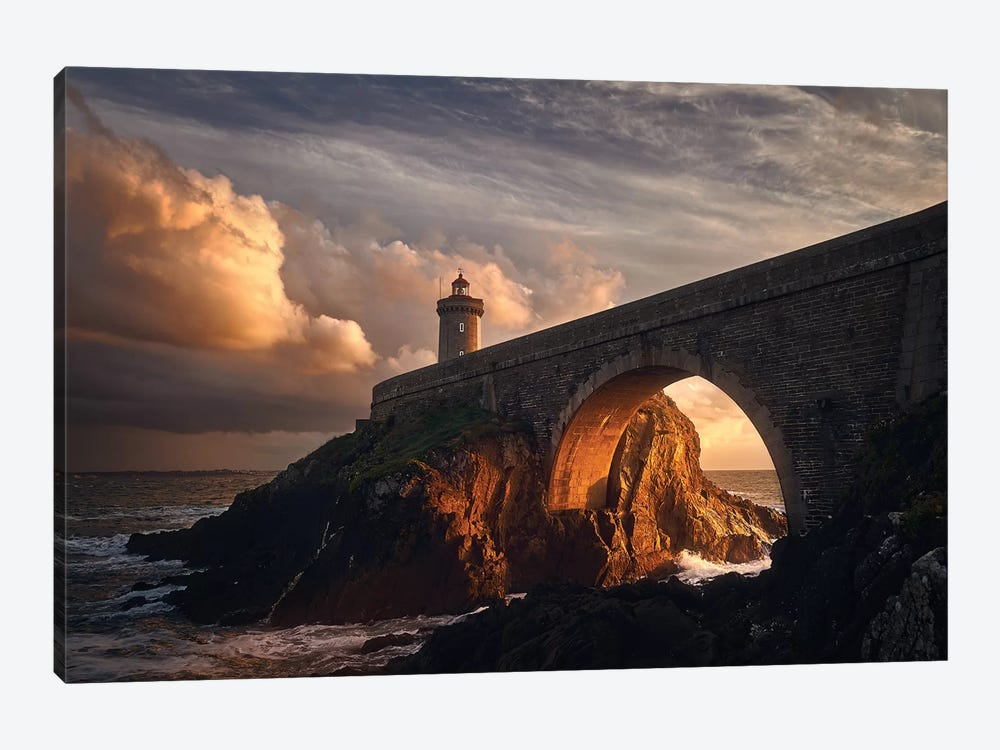 Under The Bridge by Denis 1-piece Canvas Print