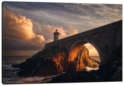 Under The Bridge Canvas Art Print