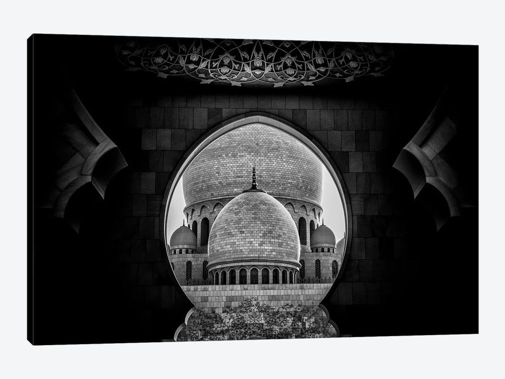 Framed by Fahad Abdualhameid 1-piece Canvas Print